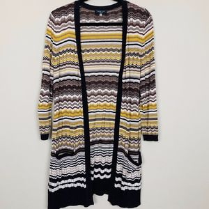Spense Long Cardigan with Pockets